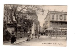CPA 82 - Montauban - Rue De La Répubique - Montauban