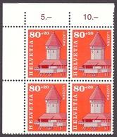 Switzerland / Suisse / Helvetia 1993 - Lucerne, Luzern Kapelbrucke, Wooden Bridge, Brucke, Pont MNH - Suisse