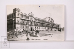 Original Photographic Postcard - Postal Mexico - Palacio Nacional - Mexico DF - México