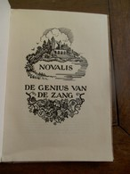 Oud Boek 1941 NOVALIS   Titel  DE GENIUS VAN  DE  ZANG - Poetry