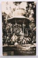 Original Photographic Postcard - Postal Mexico - Kiosco Jardin Principal - General Garden - Puebla - - México