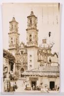 Original Photographic Postcard - Postal Mexico - Santa Prisca - Taxco Guerrero - Tienda Abarrotes La Asturiana - México