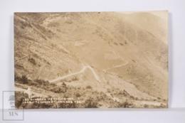 Original Photographic Postcard - Postal Mexico - Las Cumbres De Acultzingo - Tehuacan Orizaba - México