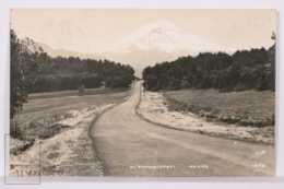 Original Photographic Postcard - Postal Mexico - El Popocatepetl - Osuna 1978 - México