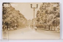 Original Photographic Postcard - Postal Mexico - Paseo De La Reforma - Castillo Chapultepec - Mexico DF - México