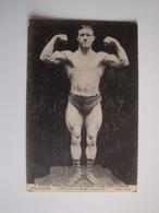 Lutte Gréco-Romaine  E.Pernin Athlète Champion De France  Paris Salle Wagram 11mai 1912 - Lutte
