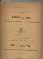 Office Central De Statistiques : Recensement Général De La Population Au 31 Décembre 1930. - Cultura