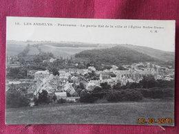 CPA - Les Andelys - Panorama - La Partie Est De La Ville Et L'Eglise Notre-Dame - Les Andelys