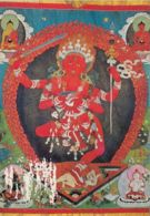 77267- MONGOLIAN TAPESTRY, GUHA ZANYANA DAGI, GODDESS - Mongolie