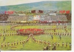 77278- ULAANBAATAR- PEOPLE'S FESTIVAL, STADIUM, CHILDRENS, GYMNASTICS - Mongolie