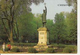 77287- CHISINAU- STATUE OF PRINCE STEPHEN THE GREAT - Moldavie