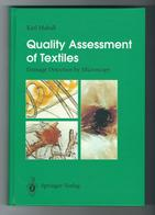 """Karl Mahall """"Quality Assessment Of Textiles Damage Detection By Microscopy"""", Language: Englisch, ISBN 3-540-57390-9, - Ingenieurswissenschaften"""