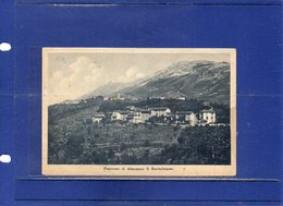 ##(DAN193)- Almenno S.Bartolomeo (Bergamo)- Panorama-usata 1944 Con Francobolli Repubblica Sociale - Bergamo