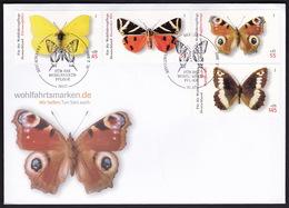 Germany, Butterflies, 2005, FDC - Farfalle