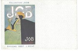 Illustrateur/Publicité  -  COLLECTION  JOB - AFFICHE 1897 -  Illustration J. ATCHE - Bon état - - Other Illustrators