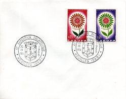 Enveloppe. Cachet 4eme Exposition Philatélique. Houilles. 20-21 Fev 1965 - Marcophilie (Lettres)