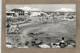 CPSM Dentelée - FOS-sur-MER (13) - Aspect De La Grande Plage En 1960 - Autres Communes