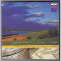 SLOVAQUIE - COFFRET EURO ESSAI + MONNAIE NATIONALE - 13 PIECES - - Slowakei