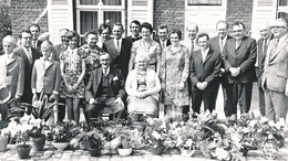 MOERBEKE     FOTO 1973  15 X 9 CM  -  GOUDEN BRUILOFT  ( ??? ) - Moerbeke-Waas