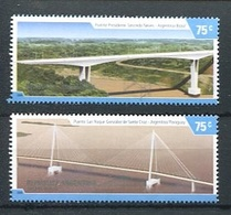 PUENTES INTERNACIONALES ARGENTINOS, ARGENTINA 2006 GOTTIG JALIL 3564 / 3565 MNH. SERIE COMPLETA ARGENTINE - LILHU - Argentinien