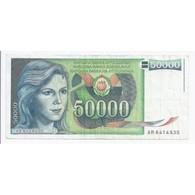 YUGOSLAVIA - PICK 96 - 50 000 DINARA - 1/05/1988 - TRES TRES BEAU - - Jugoslawien