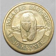 DENMARK - 10 KRONER 2007 - OURS POLAIRE - SUPERBE A FLEUR DE COIN - - Danemark