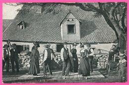 La Danse De La Bourrée - Animée - 1910 - Convoyeur RODEZ à ALBI - Danses