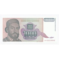 YOUGOSLAVIE - PICK 144 - 1 000 DINARA - 1994 - NEUF - - Jugoslawien