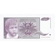 YUGOSLAVIA - PICK 104 - 50 DINARA - 1.06.1990 - NEUF - - Jugoslawien