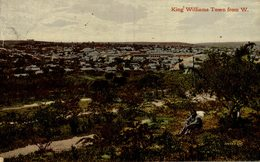 KING WILLIAMS TOWN FROM W WEST South African - Sudáfrica
