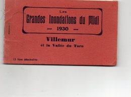 31 CPA. VILLEMUR.  Grandes Inondations Du Midi. Carnet De 12 CPA.  Saint Sulpice La Pointe. 1930. - Other Municipalities