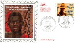 France-FDC-2006-yt 3903-journée De L'esclavage - FDC