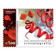 Portugal ** & International Year Of Crystallography, Biology, Hemoglobin 2014 (7571) - Chemie