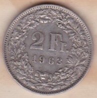 Suisse. 2 Francs 1963. En Argent - Schweiz