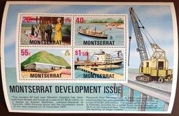 Montserrat 1977 Development Minisheet MNH - Montserrat