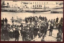 Saint-Martin-de-Ré Embarquement De Forçats Pour La Guyane * Charente Maritime 17410 * Bagnards Forçat L'île De Ré N° 9 - Saint-Martin-de-Ré