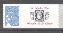 """France Personnalisé ** N°3729B Vignette """"Le Timbre-poste Tremplin De La Culture"""" (TBE) - Personnalisés"""