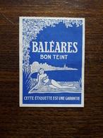 L18/130 Petite Carte Publicitaire . Baléares Bon Teint. - Perfume & Beauty