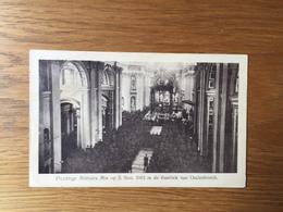 Oudenbosch  (nabij Roosendaal)  Plechtige Militaire Mis Op 5 November 1915 In De Basiliek - Roosendaal
