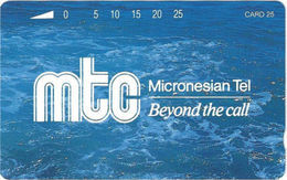 Northen Mariana Isl. - NMI-MT-06, MTC Corporate Logo, 25 Units, 1992, Mint - Northern Mariana Islands
