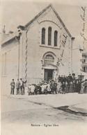 34/ Beziers - Eglise Libre - Belle Animation écrite En 1914 - Beziers