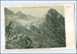 Y11698/ Tatra  Bergsteiger  Wagner-Spitze  1912  AK  - Slovaquie