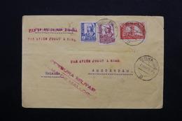 ESPAGNE - Enveloppe De Mallorca Pour Amsterdam En 1938 Avec Censure Militaire , Affranchissement Plaisant - L 24765 - Republikanische Zensur