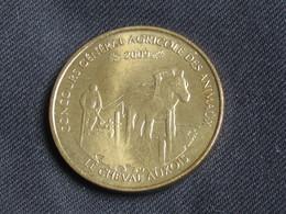 Monnaie De Paris 2009 - Concours Général Agricole Des Animaux - Le Cheval Auxois  **** EN ACHAT IMMEDIAT  **** - Monnaie De Paris