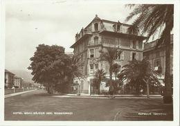 2 AKs / CP Rapallo Genua Hotel Bel Soggiorno + Ortsansicht ~1930/40 # - Italien
