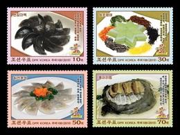 North Korea 2019 Mih. 6560/63 Gastronomy. Traditional Dishes MNH ** - Korea, North