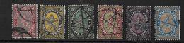 BULGARIE - 1879/1881 - YVERT N°3 + 6/9 + 11 OBLITERES - COTE = 175 EUR. - TB - Used Stamps