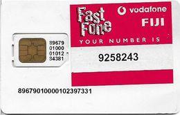 Fiji - Vodafone Fast Fone Type#1, GSM SIM, Used Fixed Chip - Fiji