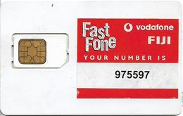 Fiji - Vodafone Fast Fone Type#2, GSM SIM, Used Fixed Chip - Fiji