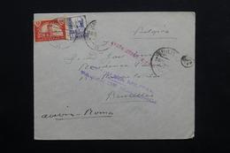 ESPAGNE - Enveloppe De Palma De Mallorca En 1937 Pour Bruxelles , Avec Censure Militaire - L 24769 - Republikanische Zensur
